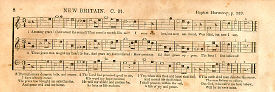 Amazing Grace tune first appears 1835